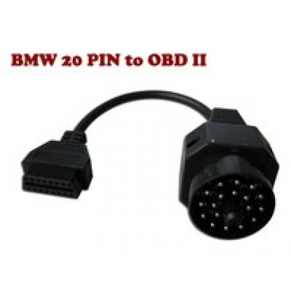 20PIN MALE TO OBD2 16PIN FEMALE for bmw