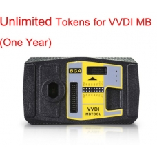 Unlimited Tokens for VVDI MB (One Year) XHORSE